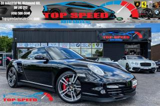 Used 2012 Porsche 911 TURBO/ 6 SPEED/IP EXHAUST/SPORTS CHRONO/AWD/LOADED for sale in Richmond Hill, ON