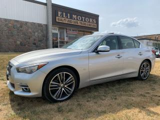 Used 2015 Infiniti Q50 PREMIUM LTD PKG AWD NAVIGATION REAR VIEW CAMERA for sale in North York, ON