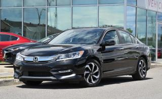 Used 2016 Honda Accord EX-L CUIR TOIT TOIT*AC*AUTO*SIEGES CHAUFFANTS*CAMERA*BLUETOOTH*CRUISE* for sale in Lachine, QC