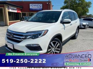Used 2017 Honda Pilot Touring for sale in Windsor, ON