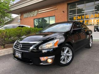 Used 2015 Nissan Altima Rear Cam Heated Seats Remote Starter Alloys Cert* for sale in Concord, ON