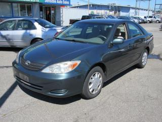 Used 2002 Toyota Camry LE for sale in Vancouver, BC