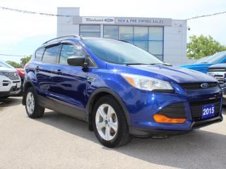 Used 2015 Ford Escape S CLEAN CARFAX   CARGO PKG   BACK UP CAM for sale in Winnipeg, MB