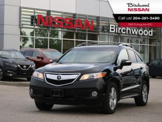 Used 2013 Acura RDX Tech Pkg AWD, for sale in Winnipeg, MB
