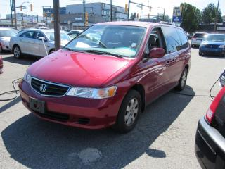 Used 2002 Honda Odyssey EX for sale in Vancouver, BC