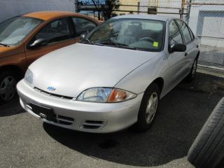 Used 2002 Chevrolet Cavalier VL for sale in Vancouver, BC