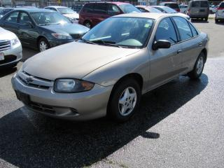 Used 2005 Chevrolet Cavalier VL for sale in Vancouver, BC