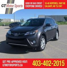 Used 2015 Toyota RAV4 LIMITED  for sale in Calgary, AB