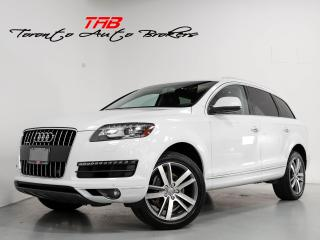 Used 2014 Audi Q7 3.0T PROGRESSIV I 7-PASS I NAVI I CLEAN CARFAX for sale in Vaughan, ON