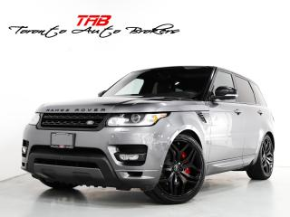 Used 2017 Land Rover Range Rover Sport HSE DYNAMIC I PANO I NAV I 22 INCH WHEELS for sale in Vaughan, ON