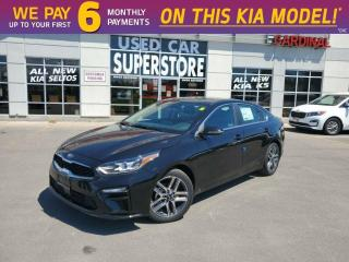 New 2020 Kia Forte EX Limited - Navigation, Premium Sound, Leather for sale in Niagara Falls, ON