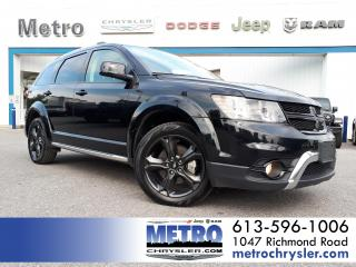 Used 2019 Dodge Journey Crossroad AWD DVD FULLY LOADED for sale in Ottawa, ON