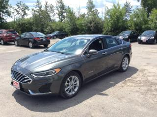 Used 2019 Ford Fusion Hybrid SEL HYBRID - LEATHER - SUNROOF - NAVIGATION! for sale in Ottawa, ON