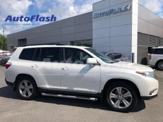 Used 2013 Toyota Highlander Sport *8-Passenger *Cuir/Leather *Bluetooth for sale in Saint-Hubert, QC
