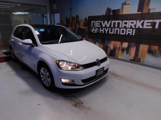 Used 2015 Volkswagen Golf Trendline Sunroof! Leather! Alloys! for sale in Newmarket, ON