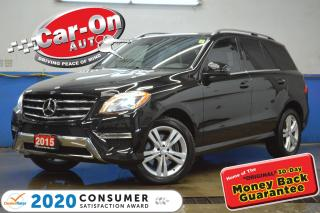 Used 2015 Mercedes-Benz ML-Class ML350 BlueTEC 4MATIC Premium LEATHER NAV PANO ROOF for sale in Ottawa, ON