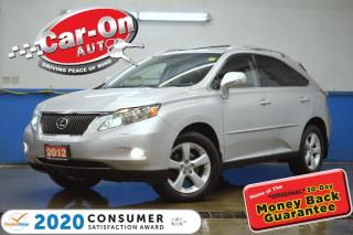 Used 2012 Lexus RX 350 Sport AWD LEATHER NAV SUNROOF REAR CAM DVD HTD SEA for sale in Ottawa, ON