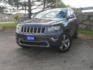 Used 2014 Jeep Grand Cherokee 4WD 4dr Limited   Hemi   Navi   Leather for sale in Waterloo, ON