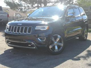 Used 2016 Jeep Grand Cherokee 4WD 4dr Overland | Hemi | Pano | Navi | Tow Pack! for sale in Waterloo, ON