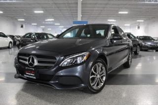 Used 2016 Mercedes-Benz C-Class C300 4MATIC I NAVIGATION I PANOROOF I REAR CAM I LEATHER for sale in Mississauga, ON