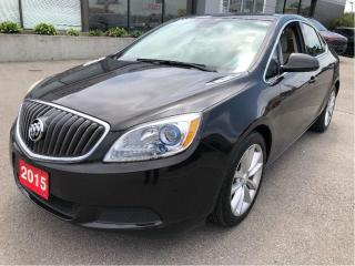 Used 2015 Buick Verano 4 Cyl Auto w/Heated Seats, Backup Cam, Bluetooth for sale in Hamilton, ON