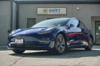 Used 2019 Tesla Model 3 STANDARD RANGE PLUS AUTOPILOT 2, AERO WHEELS, CARFAX CLEAN! for sale in Burlington, ON