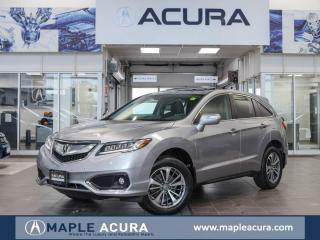 Used 2018 Acura RDX Elite, Front & Rear parking sensors, One owner. for sale in Maple, ON