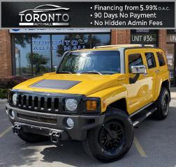 Used 2007 Hummer H3 Adventure Sunroof Leather Air Conditioning Low Km! for sale in North York, ON