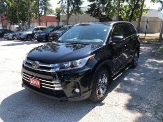 Used 2017 Toyota Highlander LIMITED  for sale in Mississauga, ON