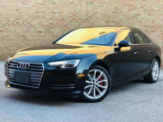 Used 2017 Audi A4 2.0T Progressive|TEXTUS|647.678.7778|HOMEDELIVERY| NAVI|REARVIEW|SUNROOF| for sale in Mississauga, ON