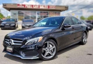 Used 2016 Mercedes-Benz C-Class C300 4MATIC|TEXTUS|647.678.7778|HOMEDELIVERY| PANOROOF|XEON|NAVI| for sale in Mississauga, ON