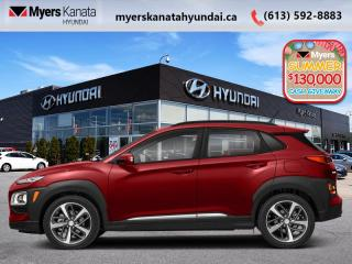 New 2020 Hyundai KONA 1.6T Ultimate AWD w/Red Colour Pack  - $212 B/W for sale in Kanata, ON