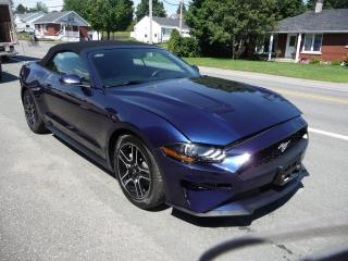 Used 2019 Ford Mustang EcoBoost Premium Convertible for sale in Ste-Marie, QC