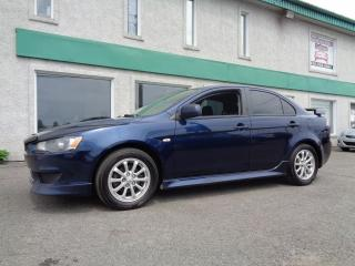 Used 2013 Mitsubishi Lancer Berline 4 portes CVT SE traction intégra for sale in St-Jérôme, QC