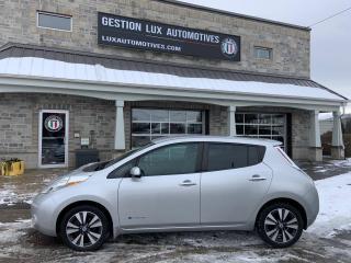 Used 2013 Nissan Leaf Hayon 4 portes SV for sale in St-Eustache, QC