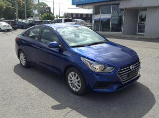 Used 2019 Hyundai Accent Preferred HEATED SEATS, ALLOYS, BACKUP CAM!! for sale in Kingston, ON