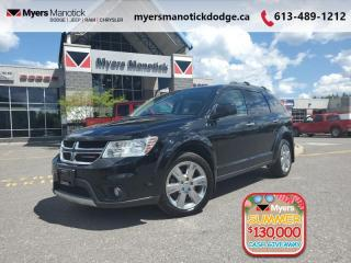 Used 2017 Dodge Journey GT  NAVI-LEATHER-REAR DVD-7 PASS for sale in Ottawa, ON
