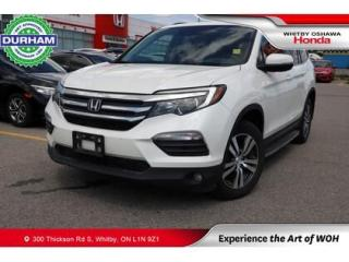 Used 2018 Honda Pilot EX-L w/Rear Entertainment System for sale in Whitby, ON