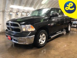 Used 2017 RAM 1500 SXT 4X4 QUAD CAB  * Hemi * Reverse camera * Side steps * Phone Connect * Tonneau cover * Voice Recognition * Tow/Haul Mode with Trailer Brake Control for sale in Cambridge, ON