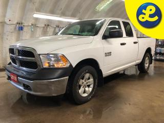 Used 2018 RAM 1500 SXT 4X4 QUAD CAB * V6 PENTASTAR * Phone Connect * 6 Passenger * Box insert *Keyless entry * Automatic headlights *  Tow/Haul Mode * Trailer Hitch Rece for sale in Cambridge, ON