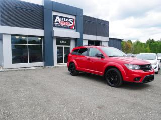 Used 2013 Dodge Journey SXT + BLACK TOP ÉDITION + INSPECTÉ + DVD for sale in Sherbrooke, QC