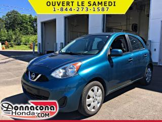 Used 2015 Nissan Micra SV *JAMAIS ACCIDENTE* for sale in Donnacona, QC