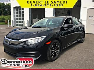 Used 2018 Honda Civic LX *GARANTIE GLOBALE 2022 OU 100 000 KM* for sale in Donnacona, QC