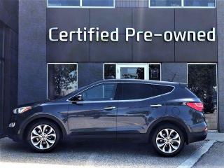 Used 2013 Hyundai Santa Fe SE w/ TURBO / PANORAMIC ROOF / LEATHER for sale in Calgary, AB