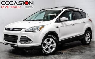Used 2016 Ford Escape SE 2.0 AWD SIEGES.CHAUFFANTS+BLUETOOTH+CAM.RECUL for sale in Boisbriand, QC