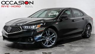 Used 2018 Acura TLX SH-AWD Tech A-Spec NAVI+CUIR+TOIT.OUVRANT for sale in Boisbriand, QC
