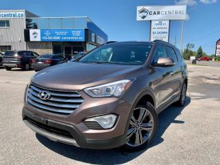 Used 2013 Hyundai Santa Fe LIMITED XL | AWD | NAVI | 7 PASSENGER | for sale in Barrie, ON