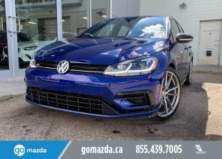 Used 2019 Volkswagen Golf R R - AUTO, AWD, LEATHER, NAV, FUN AND LUXURIOUS for sale in Edmonton, AB