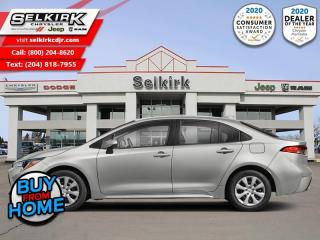 Used 2020 Toyota Corolla LE Sunroof - Safety Sense for sale in Selkirk, MB
