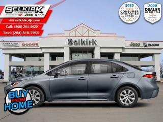Used 2020 Toyota Corolla LE  - Sunroof - Safety Sense for sale in Selkirk, MB